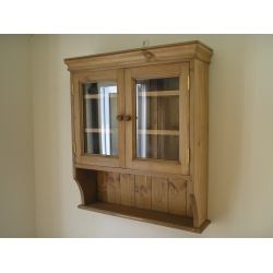 Small glazed wall unit